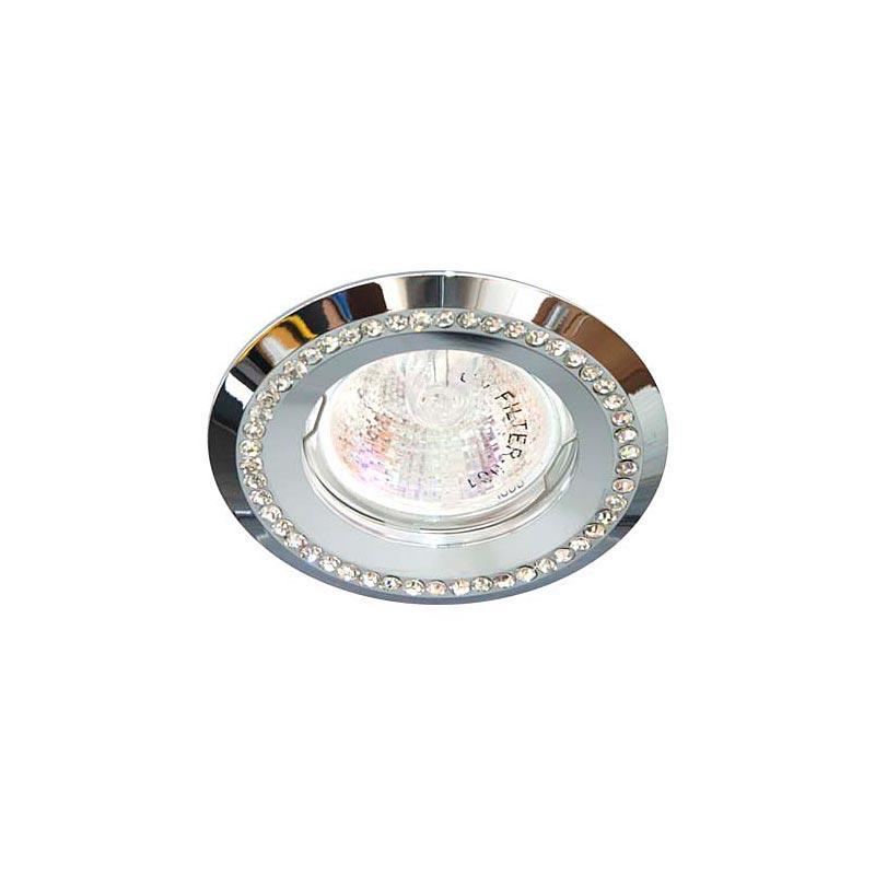 Точечный светильник прозрачный-хорм FERON DL103-C MR16 CL CR