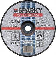 Зачистной круг по металлу Sparky 230x6