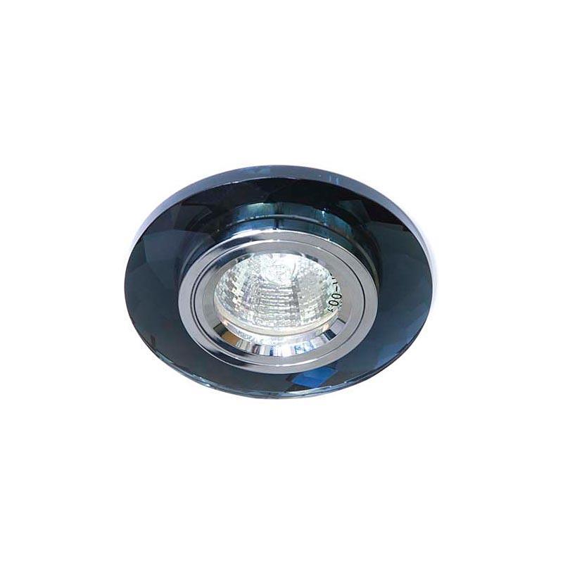 Точечный светильник серебро на сером 8050-2 MR16 CLR-GR