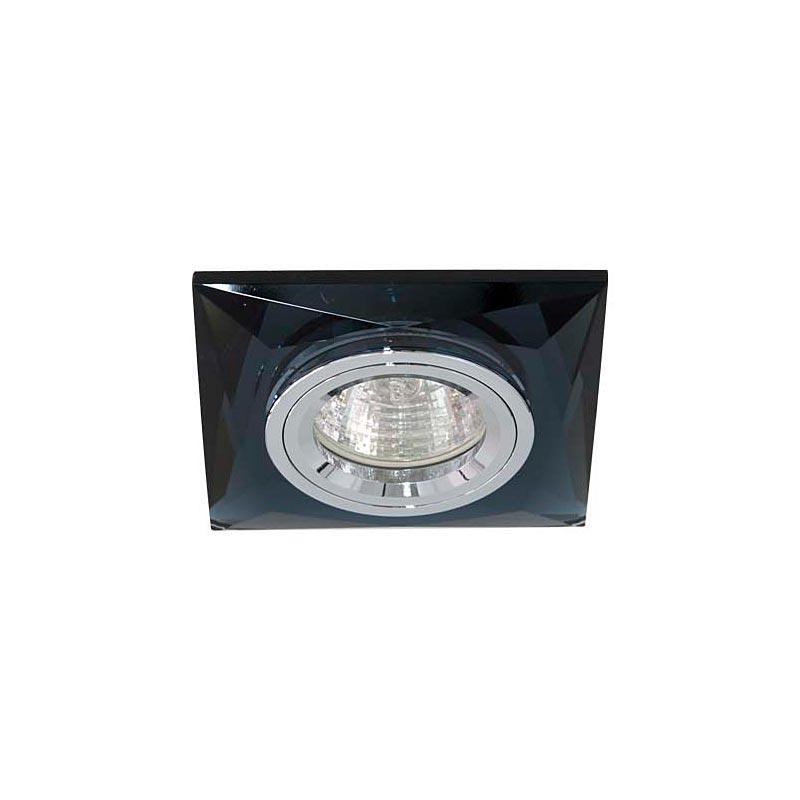 Точечный светильник серебро на сером 8150-2 MR16 CLR-GR