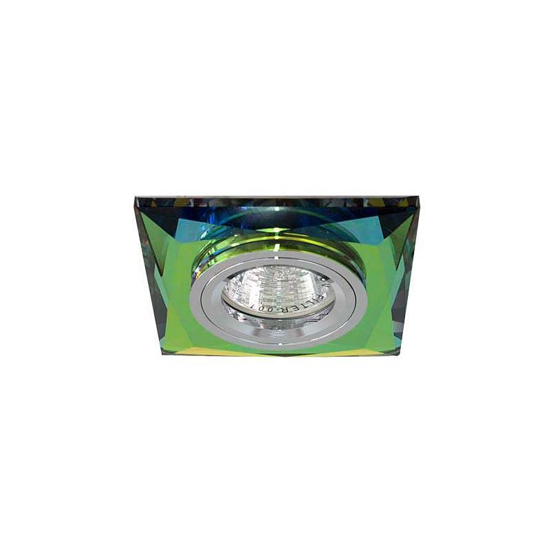 Точечный светильник серебро + 5-цветный мультиколор 8150-2 MR16 5 MTCL-SV