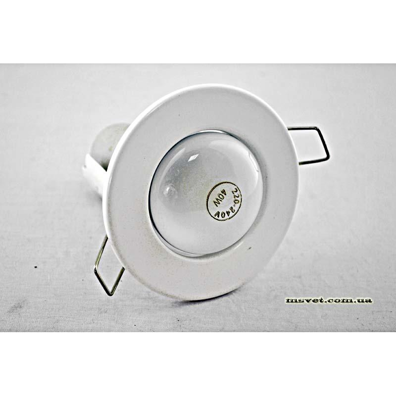 Точечный врезной светильник белый VARIANT R-50 белый