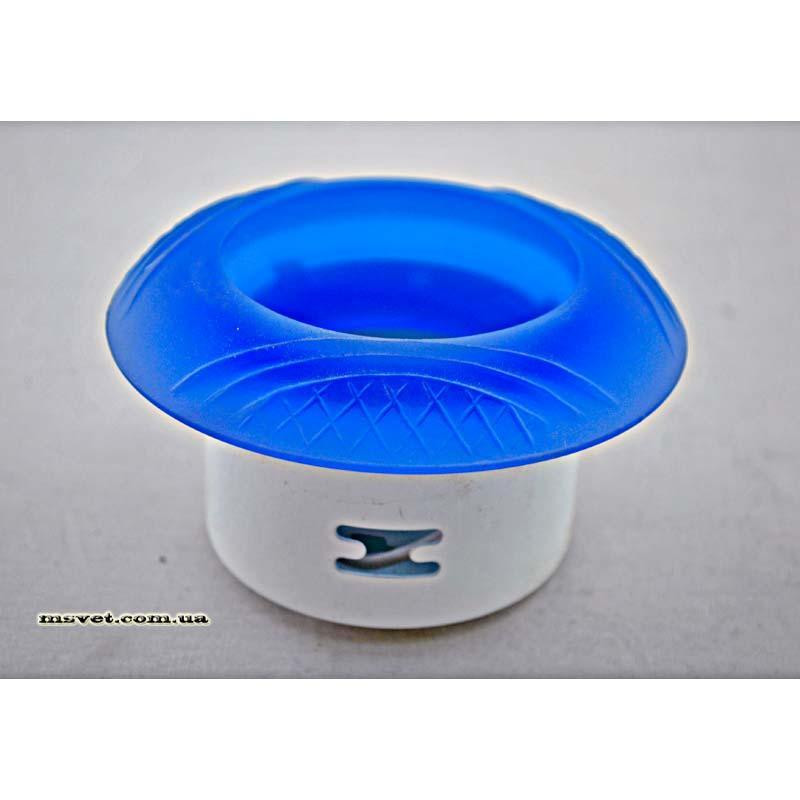 Точечный светильник голубой BRILUX стеклянный 101 BL