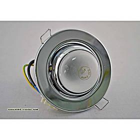 Точечный поворотный светильник R50 хром BRILUX R-50R хром поворот.