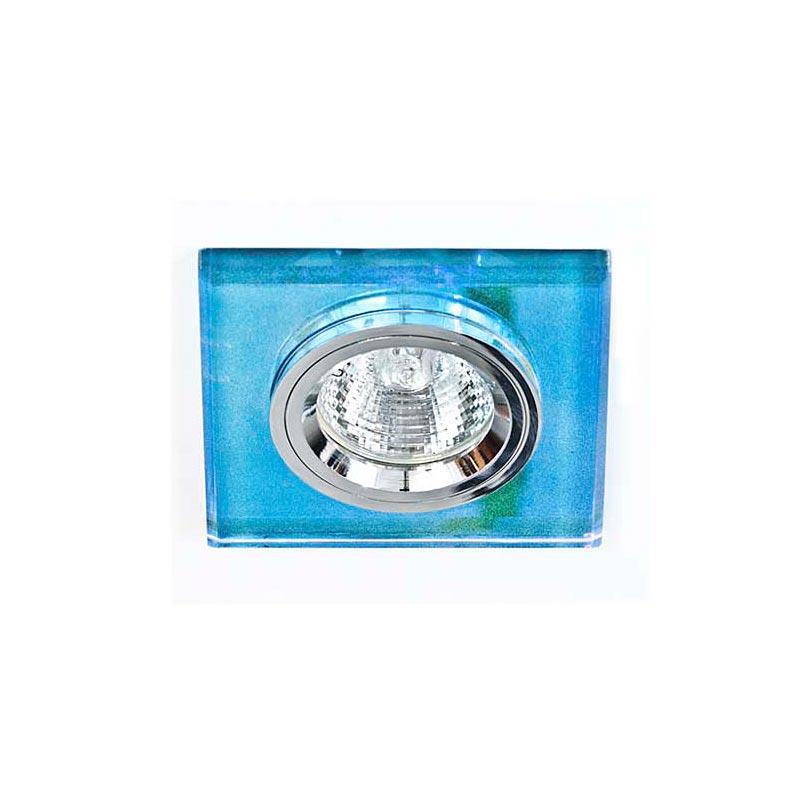 Точечный светильник серебро + 7-цветный мультиколор 8170-2 MR16 7 MTCL-SV
