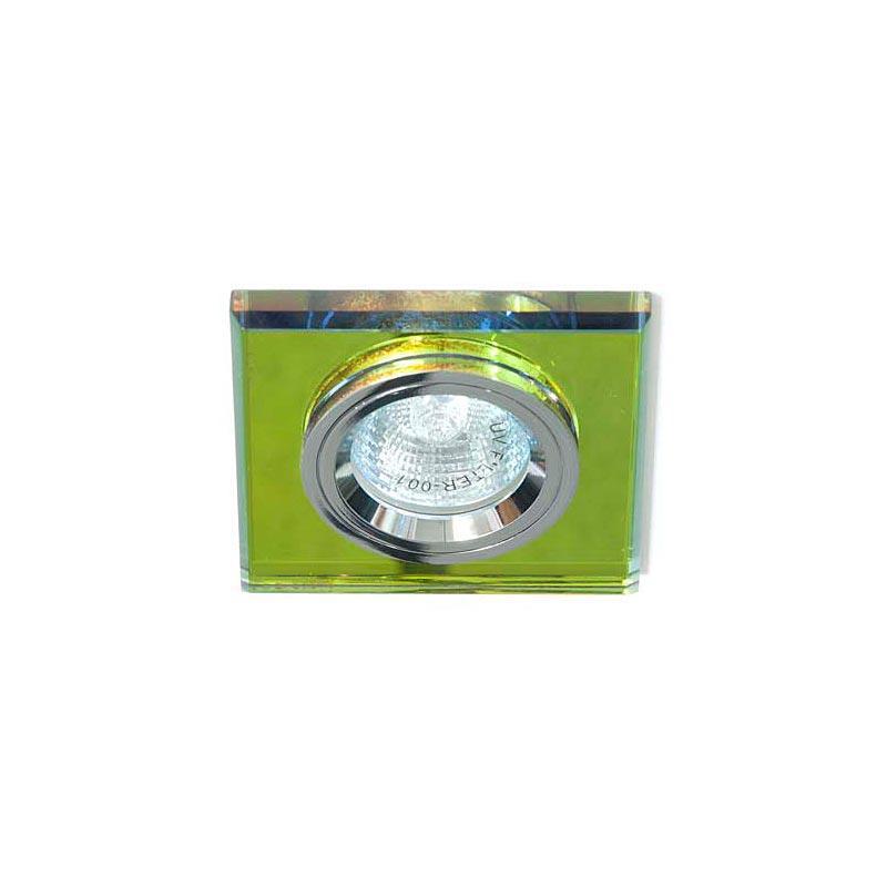 Точечный светильник серебро + 5-цветный мультиколор 8170-2 MR16 5 MTCL-SV
