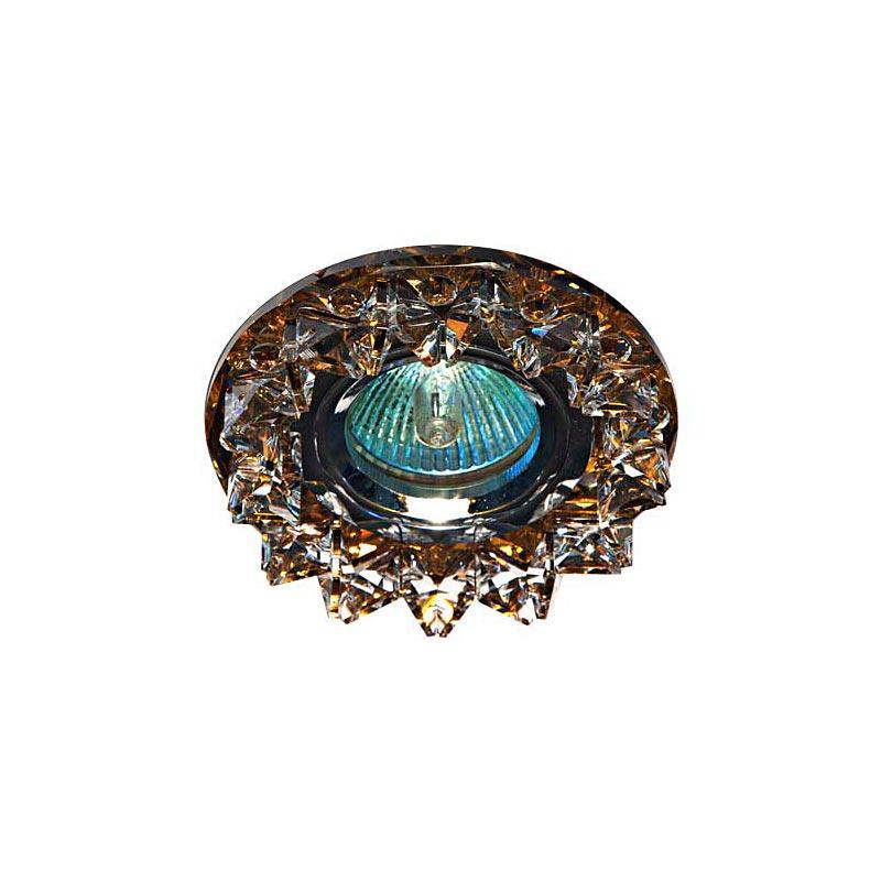Встраиваемый светильник прозрачный чайный CD2542 MR16 CL TEE