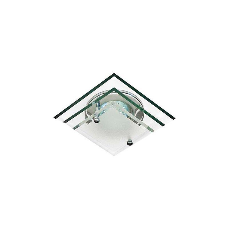 Встраиваемый светильник хром стекло 3 уровня 4153DL MR16 CR