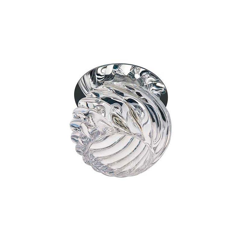 Встраиваемый светильник хром прозрачный JD103 JCD9 CL CR