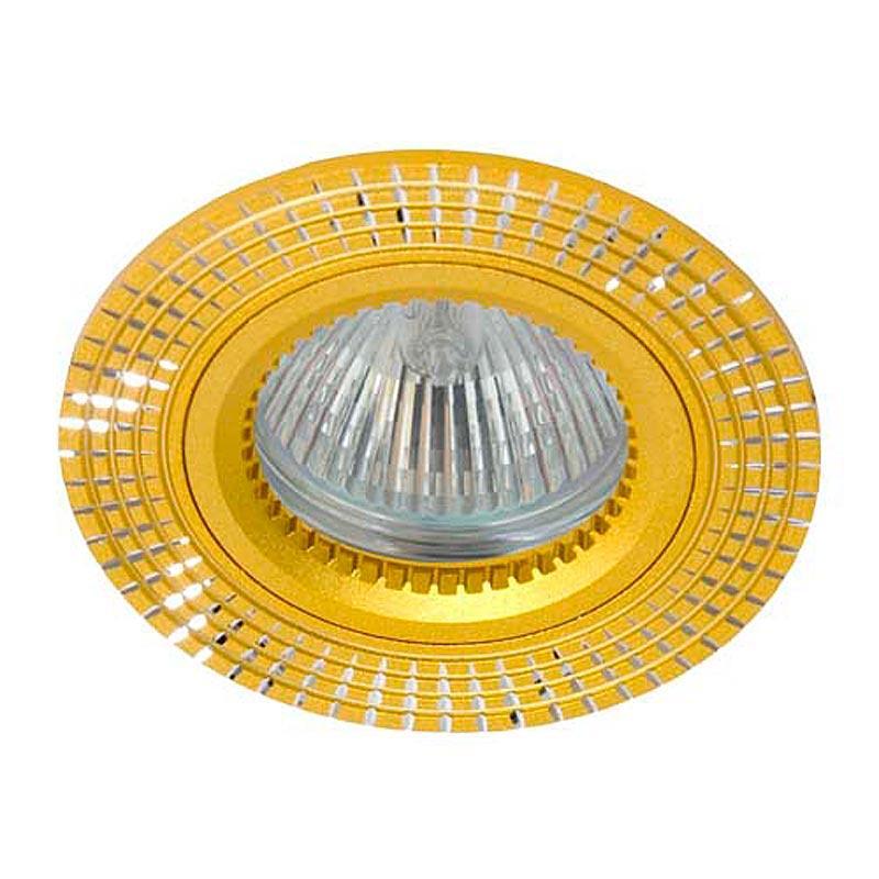 Встраиваемый светильник золото литье FERON GS-M369 MR16 G5.3 GD