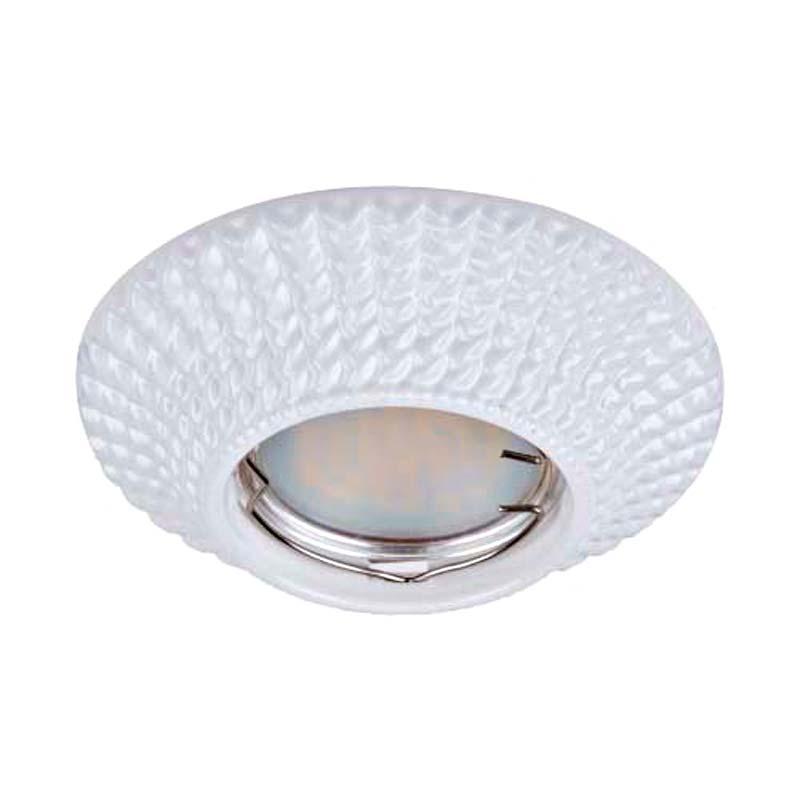 Встраиваемый светильник белый литье FERON CD003 MR16 G5.3 WT