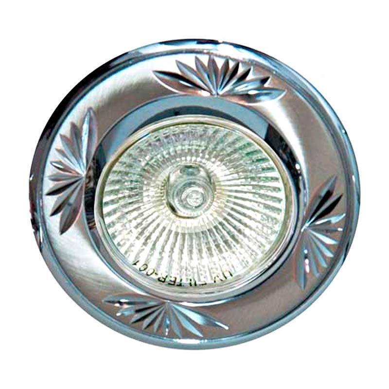 Встраиваемый светильник литье титан хром FERON 246DL MR16 G5.3 TN CH