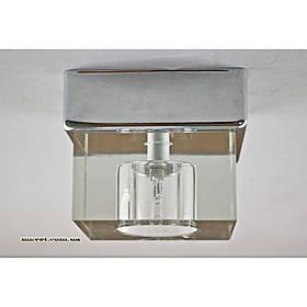 Накладной светильник прозрачный хром SL-9706/1C CR CL