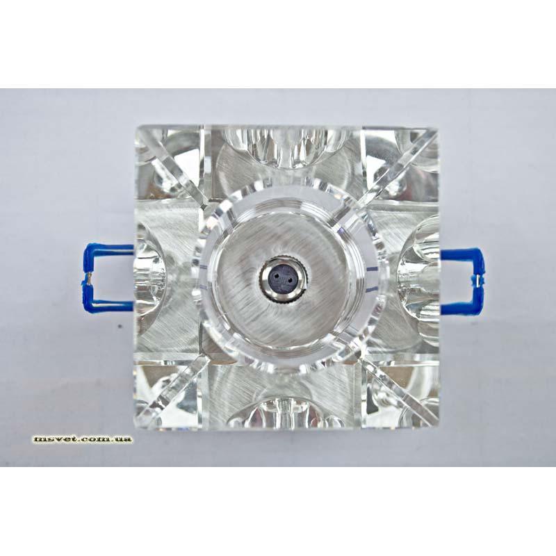 Встраиваемый светильник прозрачный серебро TINKO 36022/1S SL CL