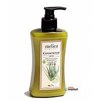 Бальзам-кондиционер для волос Melica Organic с протеинами пшеницы и экстрактом алоэ 300 мл