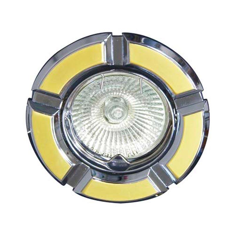 Поворотный встраиваемый светильник золото-хром FERON 098T MR-16 GU5.3 GD-CM