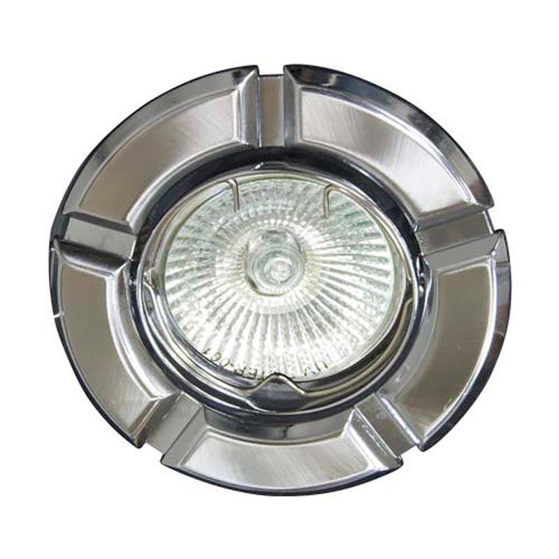 Поворотный встраиваемый светильник титан-хром FERON 098T MR-16 GU5.3 TN-CM