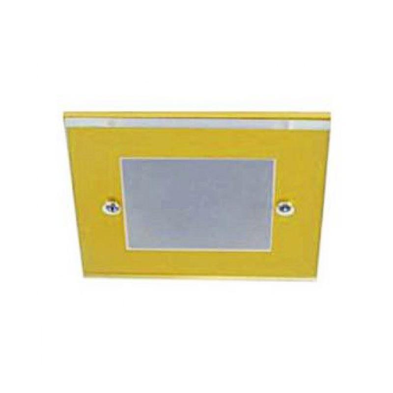 Не поворотный встраиваемый светильник золото FERON DL168 MR16 G5.3 GD