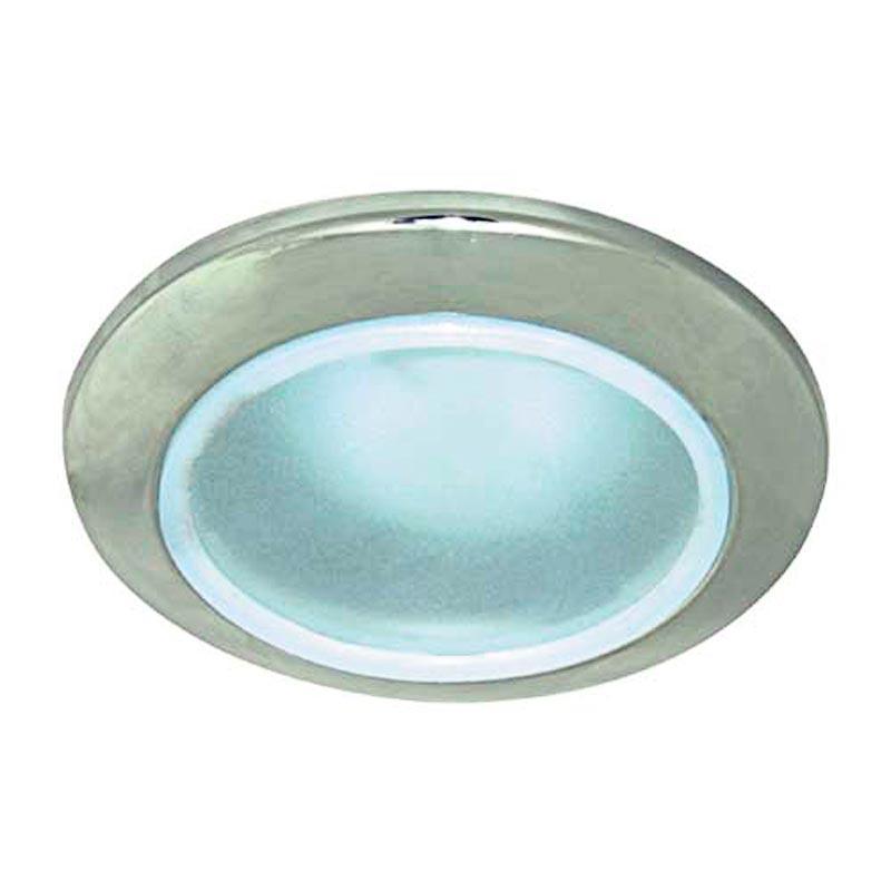 Не поворотный встраиваемый светильник в ванную комнату титан FERON DL202 MR16 G5.3 TN