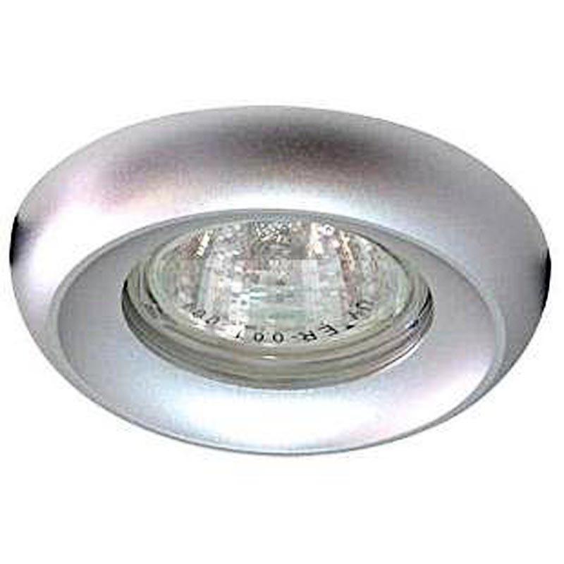 Не поворотный встраиваемый светильник алюминий FERON DL228 MR16 G5.3 AL