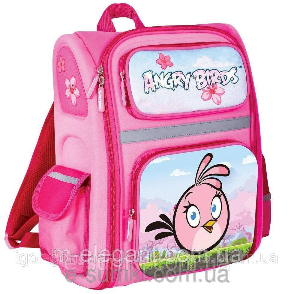 Рюкзак школьный каркасный angry birds школьные ранцы, школьные рюкзаки