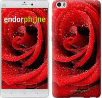 """Чехол на Xiaomi Mi Note Красная роза """"529u-102-744"""""""