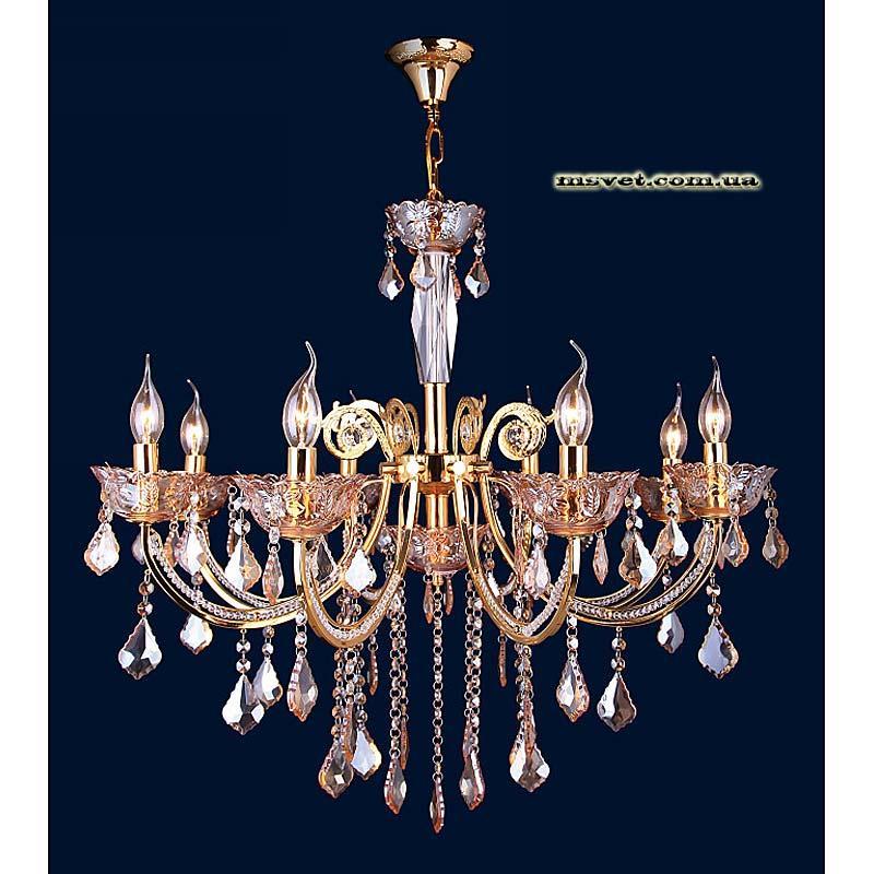 Люстра «Троина 8» золото LS-10705-8 золото
