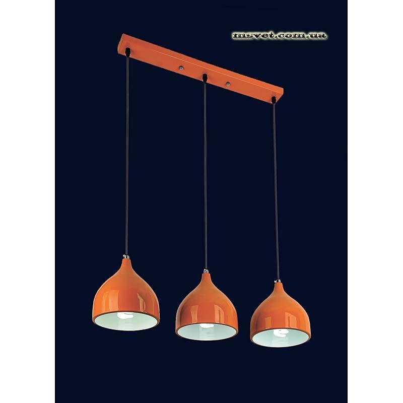 Люстра «Юлика 3» оранж LS-10814-3 Oранж