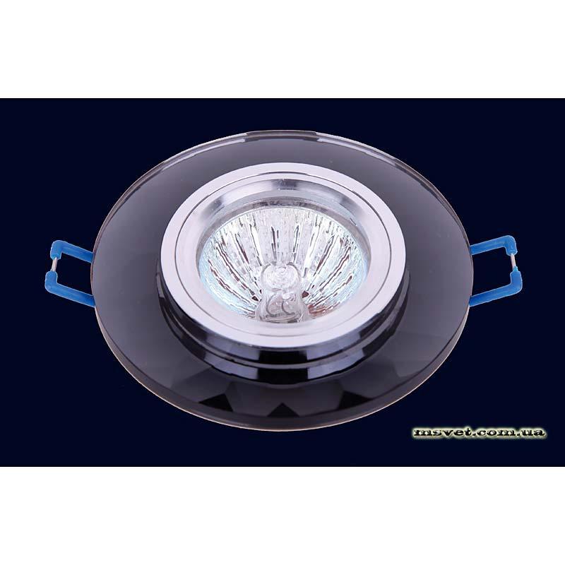 Точечный светильник черный на хроме LS-10830 черный