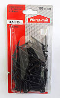 Саморез шуруп по металлу BGM-35035 Wkret Met 3,5х35 мм. для гипсокартона без сверла в упак. 100 шт