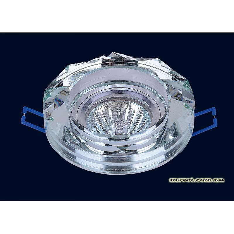 Точечный светильник зеркальный на хроме LS-10864