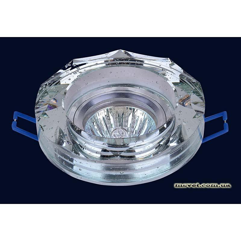 Точечный светильник зеркальный на хроме LS-10878