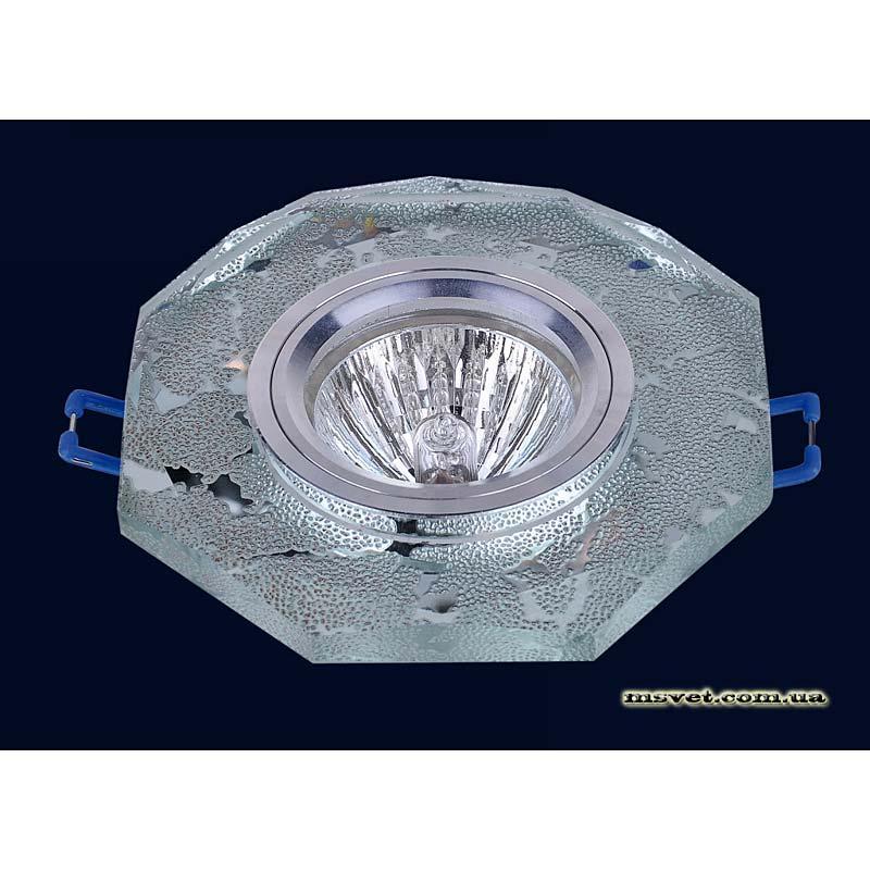 Точечный светильник зеркальный на хроме LS-10882