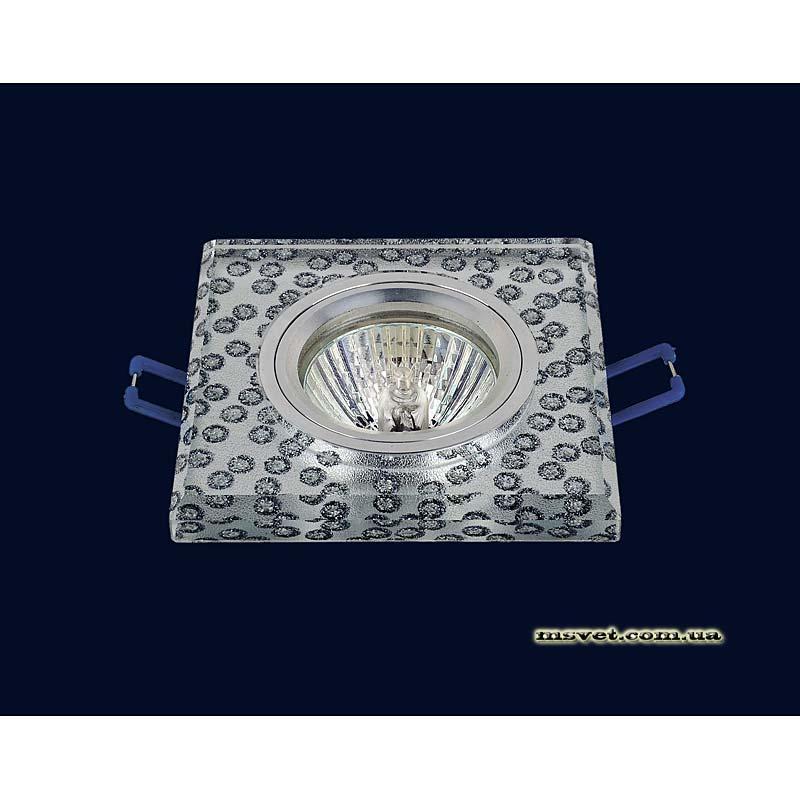 Точечный светильник зеркальный на хроме LS-10912