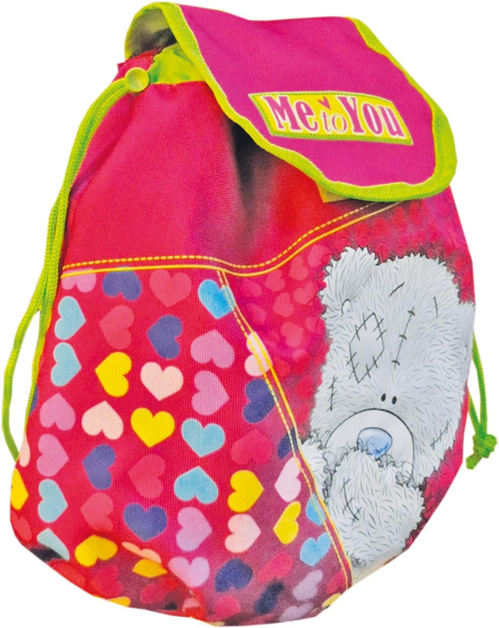 Красивый, детский рюкзак Мишка Тедди 3, 551807 малиновый