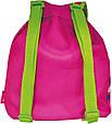 Красивый, детский рюкзак Мишка Тедди 3, 551807 малиновый, фото 2