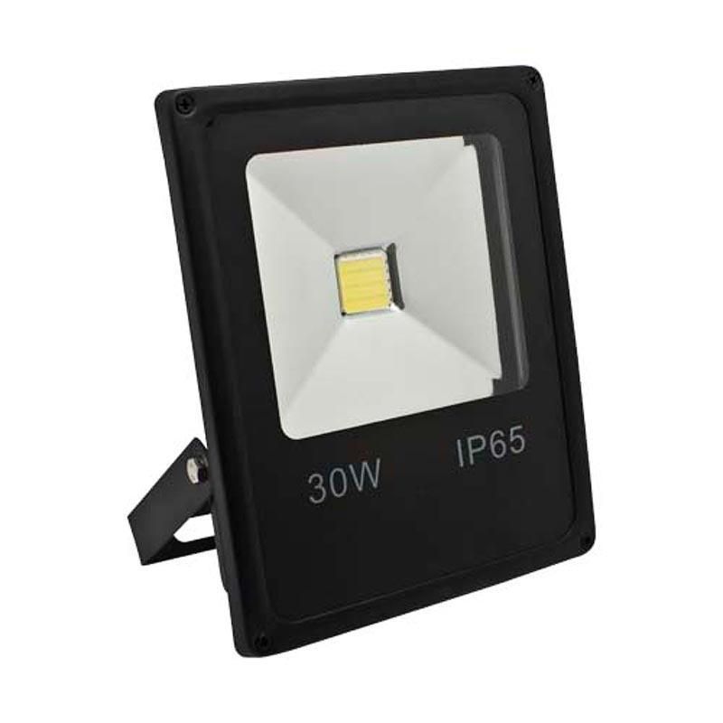 Прожектор LED COB «SUPER SLIM» 30W черный Feron LL-838 1LED 30W 6400K 230V IP65