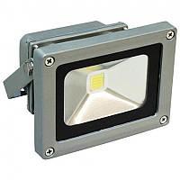 Прожектор LED COB «standart» 10W серебро Feron LL-122 1LED 10W 6400K 230V IP65