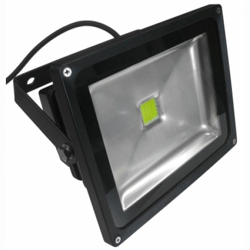 Прожектор LED COB «standart» 30W черный Feron LL-132 1LED 30W 6500K 230V IP65