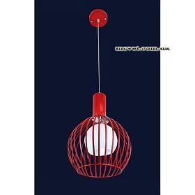 Люстра «Алика 1» красная LS-11038-1 красный