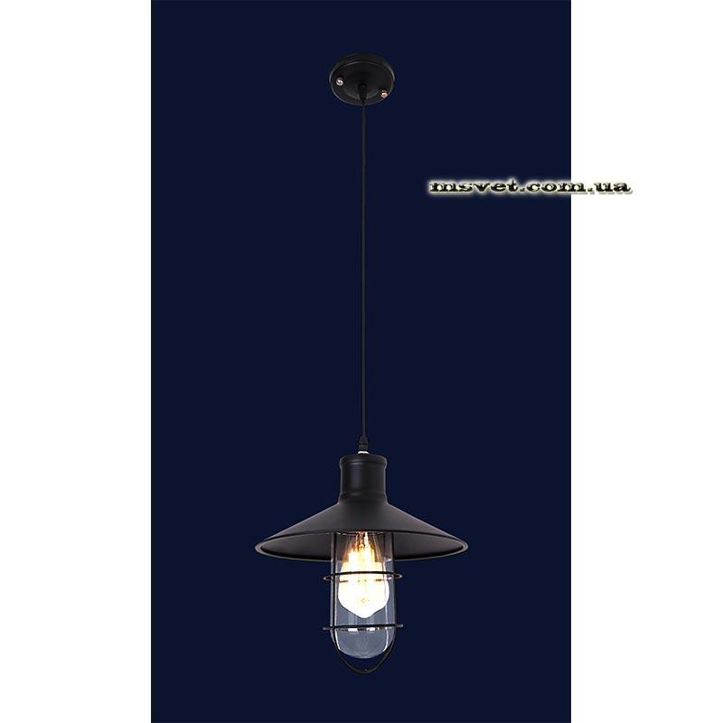 Люстра «Джарослава 1» черная 360 LS-11075-1 BK(360)