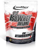 1:1 IsoWhey Deluxe 900 гр french vanilla IronMaxx