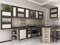 Кухня на заказ модерн МДФ пленочный 010