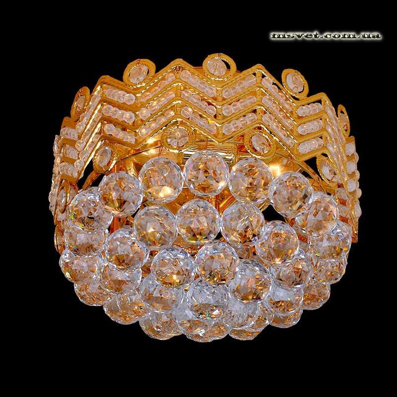 Люстра «Мариджана 3» золото LS-11376-3 GD