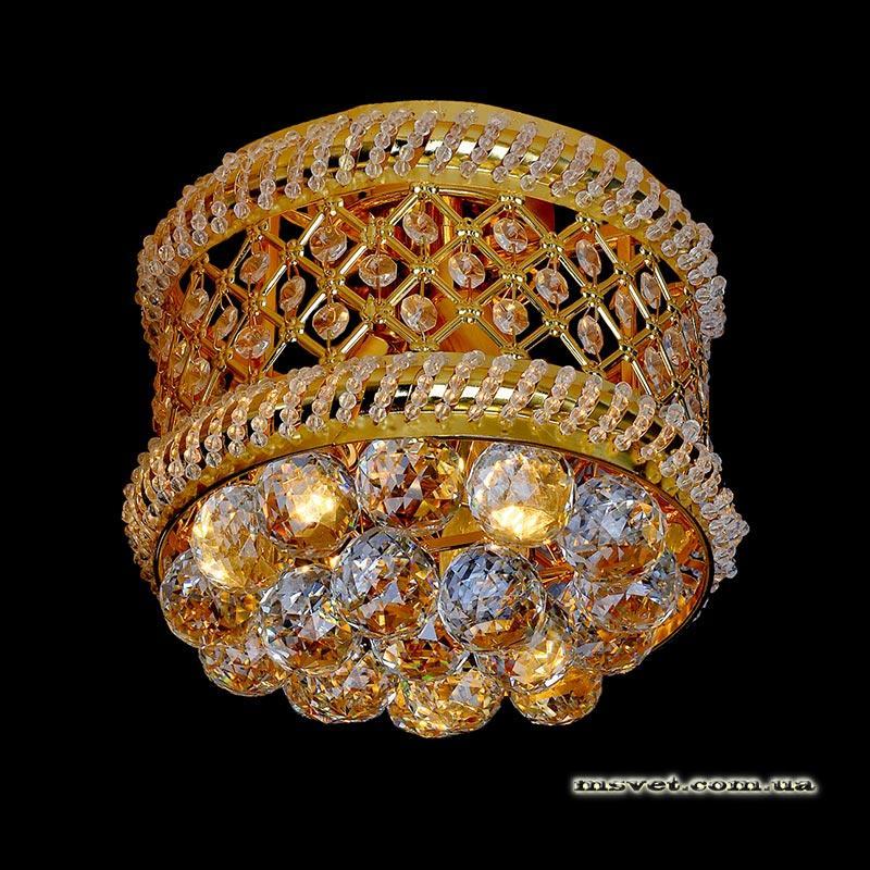 Люстра «Эмилиджа 3» золото LS-11381-3 GD