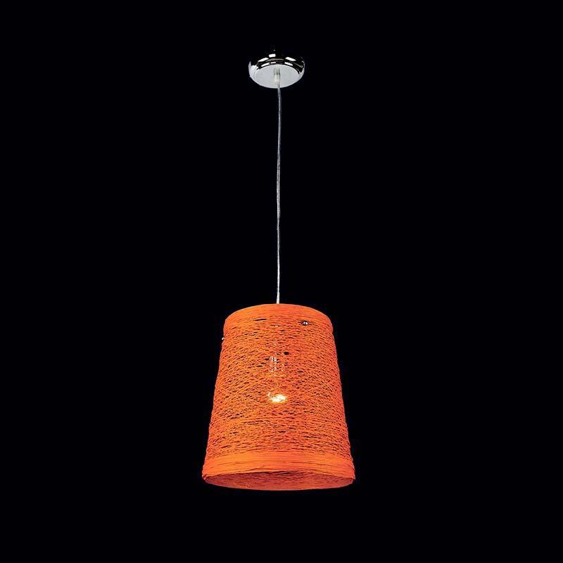 Люстра «Власа 1» оранжевая LS-11445-1 OG