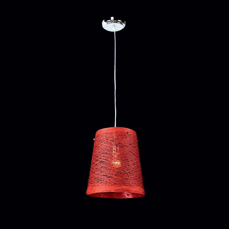 Люстра «Власа 1» красная LS-11445-1 RD