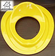 Детское сиденье (накладка) на унитаз Н007 (желтое)