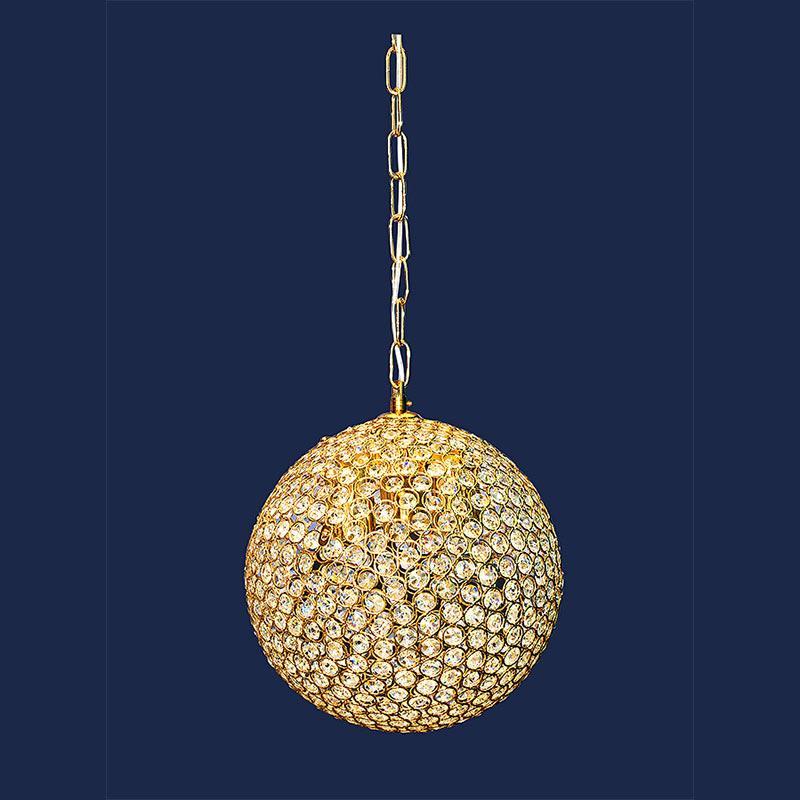 Люстра «Маргрит 3» золото LS-11491-3 GD E-27