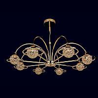 Люстра «Ирма 8» золото LS-11499-8 GD